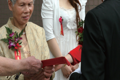 Giving the Twelve-fold Wedding Invitation